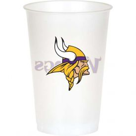 NFL Minnesota Vikings 20 oz Printed Plastic Cups