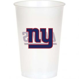 NFL New York Giants 20 oz Printed Plastic Cups