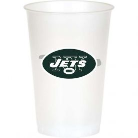 NFL New York Jets 20 oz Printed Plastic Cups