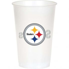 NFL Pittsburgh Steelers 20 oz Printed Plastic Cups