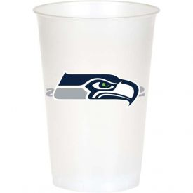 NFL Seattle Seahawks 20 oz Printed Plastic Cups