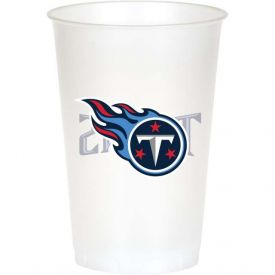 NFL Tennessee Titans 20 oz Printed Plastic Cups