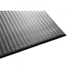 Guardian Air Step Anti-Fatigue Mat, Polypropylene, 24 x 36, Black