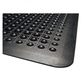 Guardian Flex Step Rubber Anti-Fatigue Mat, Polypropylene, 36 x 60, Black