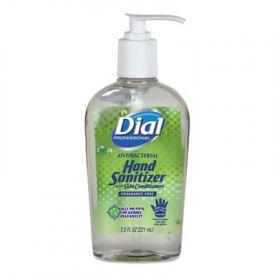 Dial® Antibacterial Hand Sanitizer, 7.5 oz, Frag.-Free