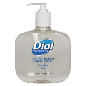 Dial® Antimicrobial Soap for Sensitive Skin, 16 oz Pump