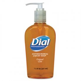 Dial® Gold Antimicrobial Liquid Hand Soap, Floral Fragrance, 7.5 oz