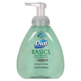 Dial® Basics Foaming Hand Soap, Original, Honeysuckle, 15.2oz Pump