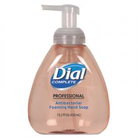 Dial® Antimicrobial Foaming Hand Soap, Original Scent, 15oz Pump