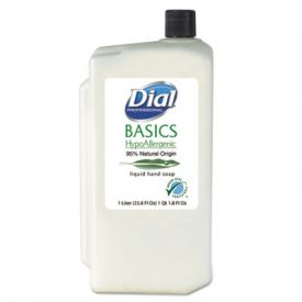 Dial® Basics Hypoallergenic Liquid Soap, Rosemary & Mint, 1 L