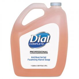 Dial® Antimicrobial Foaming Hand Soap, Refill, 1 Gallon