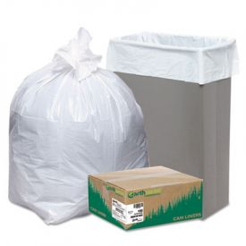 Earthsense; Linear LD Recycled Tall Kitchen Bags, 24 x 33, 13 Gal, 0.85 mil