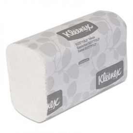 Kleenex® Folded Paper Towels, 7 4/5 x 12 2/5, White