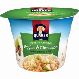 Quaker Instant Oatmeal Apple Cinnamon 1.51oz.
