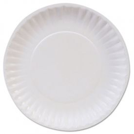 Dixie Basic™ Paper Dinnerware, Plates, White, 6