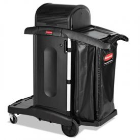 Rubbermaid® Executive High Security Cleaning Cart, 23.1wx39.6dx27h