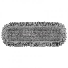 Rubbermaid® Commercial Pulse Double-Sided Microfiber Flat Mop Head, 18