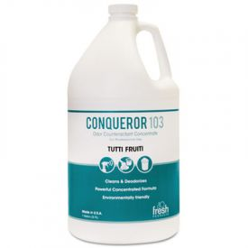 Fresh Products Conqueror 103 Odor Counteractant, Tutti-Frutti, 1 Gallon