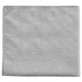 Rubbermaid® Executive Multi-Purpose Microfiber Cloths, Gray, 16 x 16