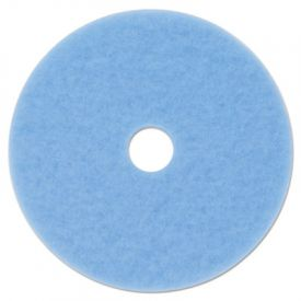 3M Sky Blue Hi-Performance Burnish Pad 3050, 20