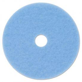 3M Sky Blue Hi-Performance Burnish Pad 3050, 20