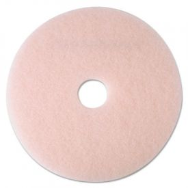 3M Eraser Burnish Floor Pads 3600, 24-Inch, Pink