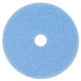 3M Sky Blue Hi-Performance Burnish Pad 3050, 17
