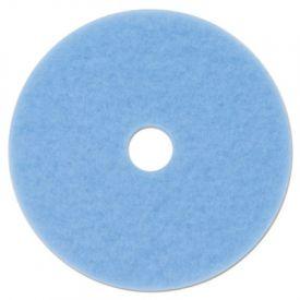 3M Sky Blue Hi-Performance Burnish Pad 3050, 17