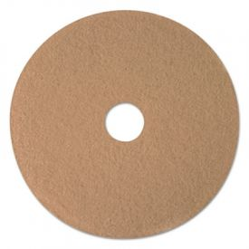3M Ultra High-Speed Burnishing Floor Pads 3400, 21-Inch, Tan