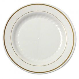 WNA Masterpiece™ Plastic Plate, 7 1/2