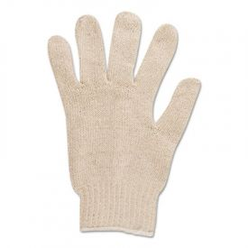 AnsellPro Multiknit™ Cotton/Poly Gloves, Size 9, Off White