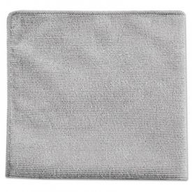 Rubbermaid® Executive Multi-Purpose Microfiber Cloths, Gray, 12 x 12