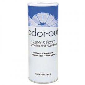 Fresh Products Odor-Out Carpet and Room Deodorant, Lemon, 12oz, Shaker Can