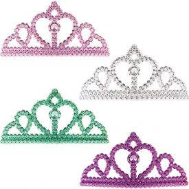 Jewel Tiara Haircomb Child Size