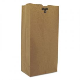 General Grocery Paper Bags, 57-lb, Brown Kraft, 6-5/16 x 4-3/16 x 13-3/8