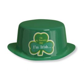 St. Patrick's Day Plastic Derby Hats