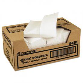 Chix® Worxwell; General Purpose Towels, 13 x 15, White