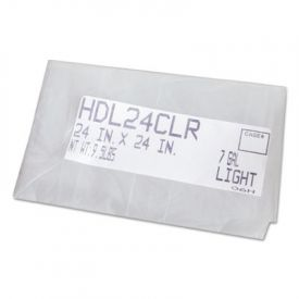 FlexSol High Density Coreless Can Liners, 38 x 60, 60-Gallon, 17 Microns