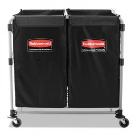 Rubbermaid® Commercial Collapsible X-Cart, 2-4 Bushel Cart