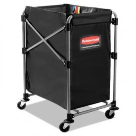 Rubbermaid® Commercial Collapsible X-Cart, 4 Bushel Cart
