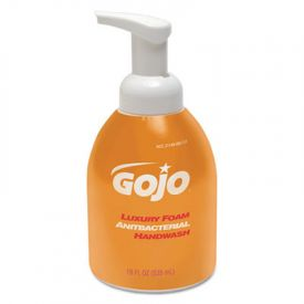 GOJO®Foam Antibacterial Hand Wash, Orange Blossom, 18 oz Pump