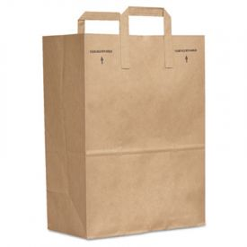 Duro Bag Kraft Paper Bags, Paper Bag, 40-lb, Brown, 12 x 7 x 17