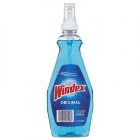 Windex® Ammonia-D® Glass Cleaner, Neutral, 12oz, Pump Bottle