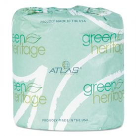 Atlas Paper Mills Green Heritage; Toilet Tissue, Individually Wrapped, 2-Ply