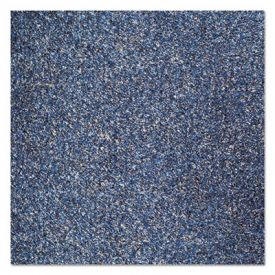 Crown Rely-On™ Olefin Indoor Wiper Mat, 48 x 72, Blue/Black