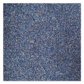 Crown Rely-On™ Olefin Indoor Wiper Mat, 48 x 72, Blue/Black
