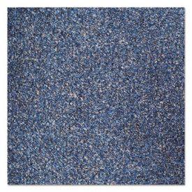 Crown Rely-On™ Olefin Indoor Wiper Mat, 36 x 60, Blue/Black