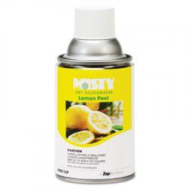 Misty® Metered Dry Deodorizer Refills, Lemon Peel, 7oz, Aerosol