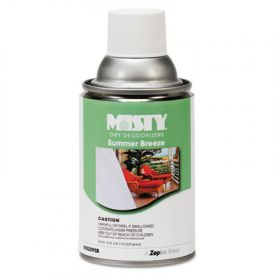 Misty® Metered Dry Deodorizer Refills, Summer Breeze, 7oz, Aerosol