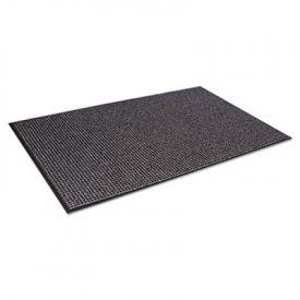 Crown Oxford™ Wiper Mat, Olefin, 48 x 72, Gray/Black